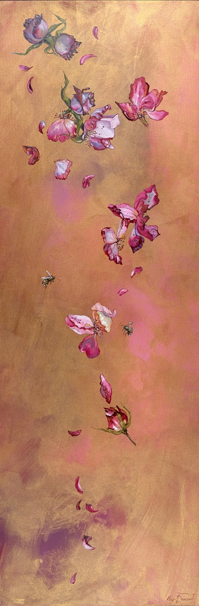 The Need for Flowers II by kay davenport -  sized 24x72 inches. Available from Whitewall Galleries